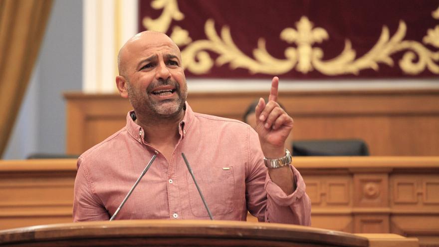 José García Molina, diputado regional de Podemos en CLM