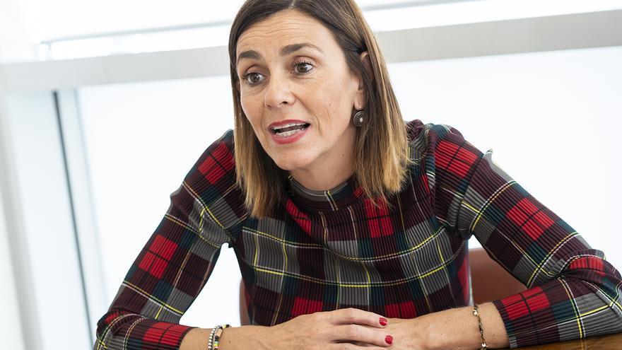 La secretaria de Organización del PRC, Paula Fernández. | JOAQUÍN GÓMEZ SASTRE