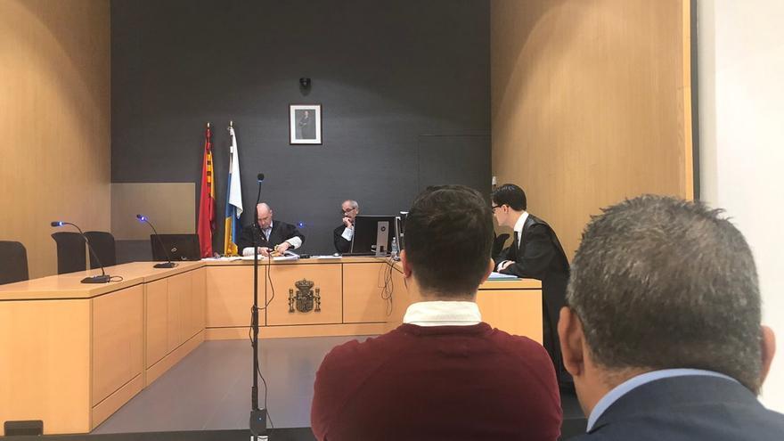 Juicio por la agresión al periodista de 'Canarias 7' Francisco Fajardo por parte del sospechoso de la desaparición de Juana Ramos.
