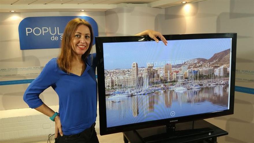 Cristina Tavío, candidata del PP a la Alcaldía de Santa Cruz.