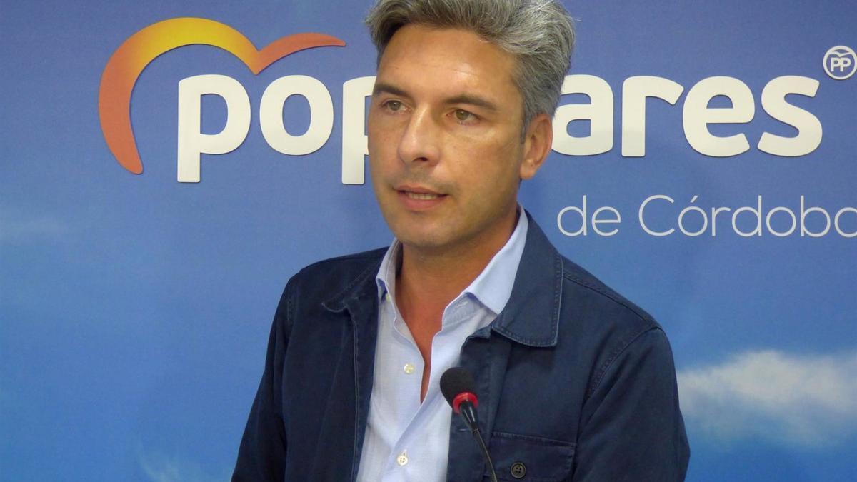 El portavoz de Transportes, Movilidad y Agenda Urbana del PP en el Congreso de los Diputados, el cordobés Andrés Lorite