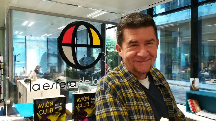 Carlos Santos, autor de 'Avión Club'