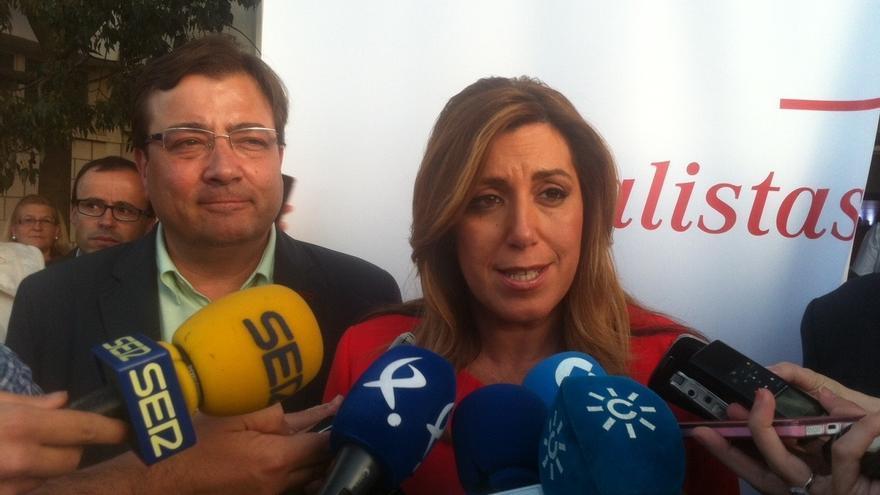 """Susana Díaz asevera que va """"a mantener el diálogo hasta el final con todo el mundo"""" y apela a la """"responsabilidad"""""""