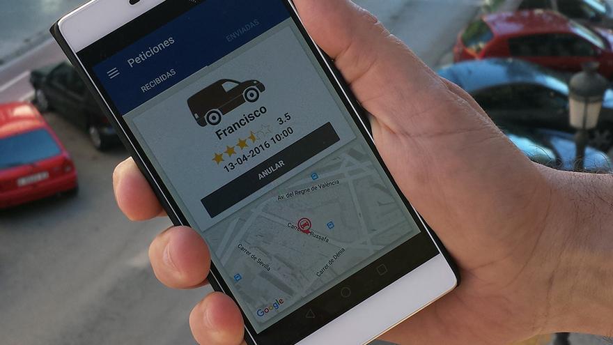 La aplicación 'spotoops' pretende ayudar a la hora de encontrar plaza de aparcamiento