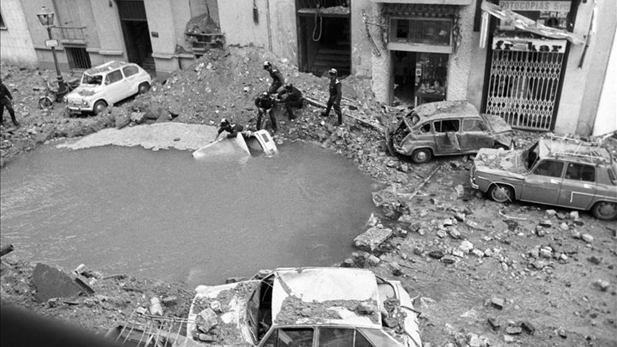 En el atentado murieron Carrero Blanco, su conductor y su almirante