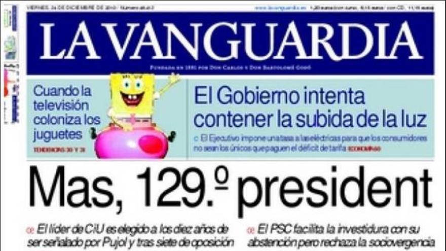 De las portadas del día (24/12/2010) #10