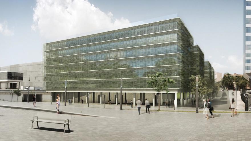 Diseño de la futura Ciudad de los Funcionarios de la Generalitat