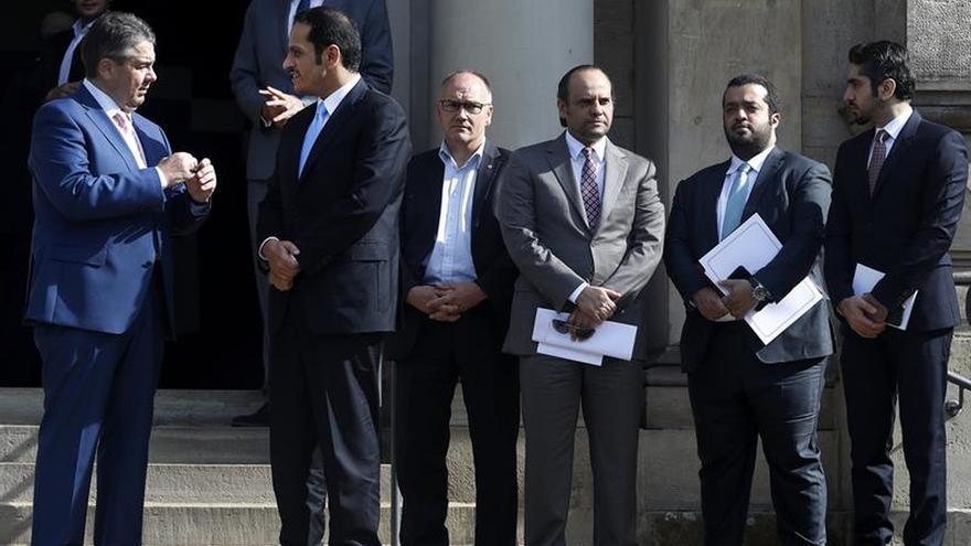 Catar y Alemania piden regreso al diálogo y fin del bloqueo