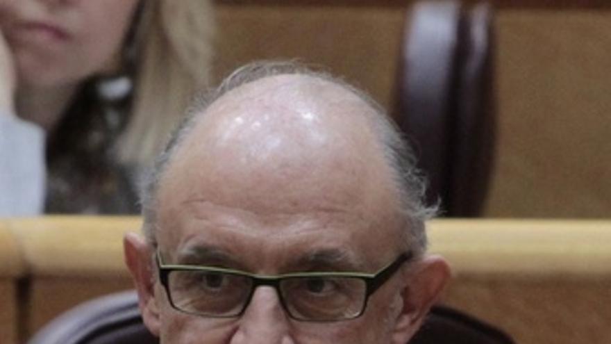 El ministro de Economía Y Hacienda, Cristóbal Montoro. (EUROPA PRESS)