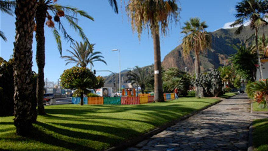Parque infantil de El Césped.