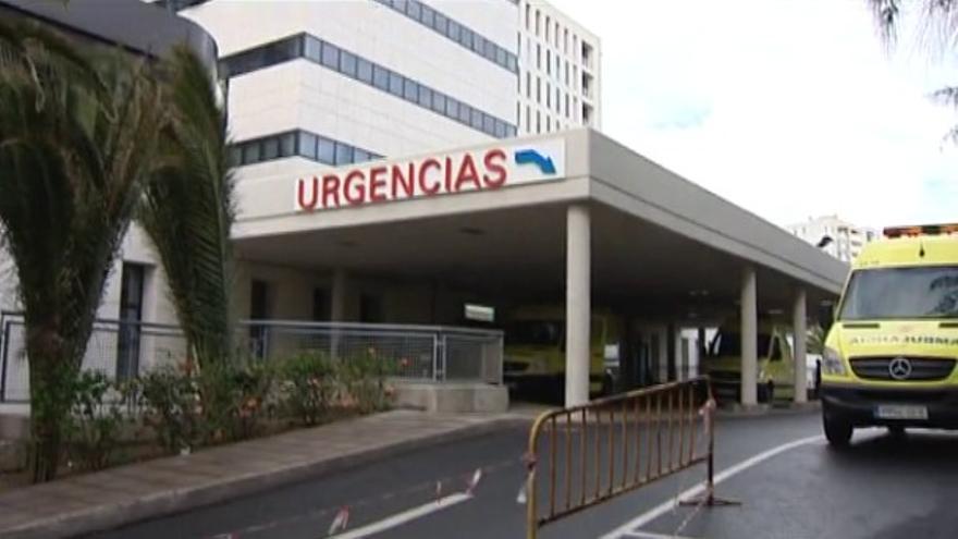 Urgencias del Hospital Insular. (FOTOGRAMA DE RTVC)