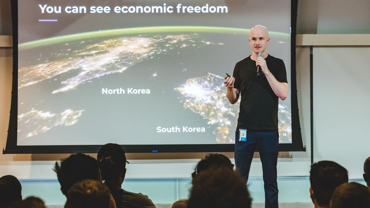 Brian Armstrong, CEO y fundador de Coinbase.
