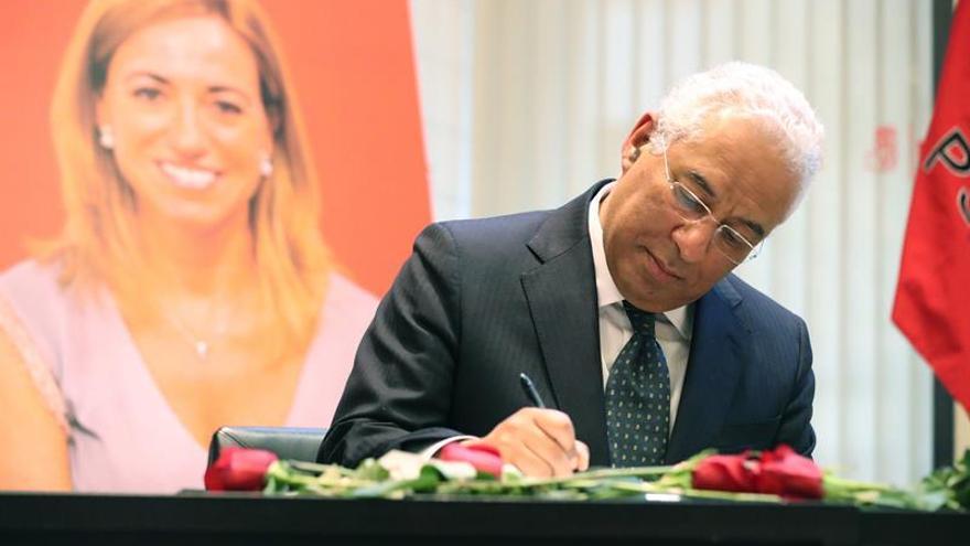 """El primer ministro luso expresa condolencias por muerte de su """"amiga"""" Chacón"""