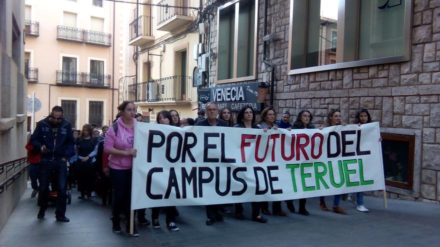 La manifestación fue convocada por 32 organizaciones