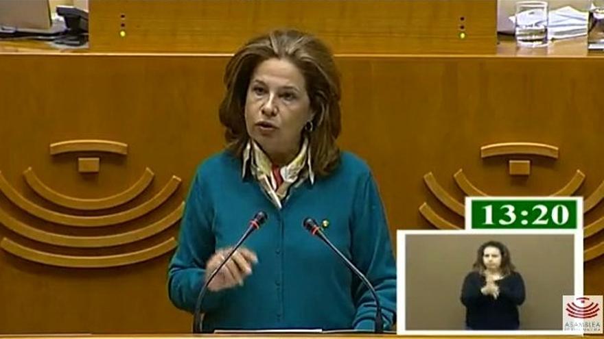 Comparecencia en la Asamblea de Pilar Blanco-Morales, consejera de Hacienda y Administración Pública / @Asamblea_Ex