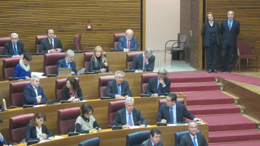 Comienza el pleno de las Cortes en el que se debate la liquidación de la sociedad pública