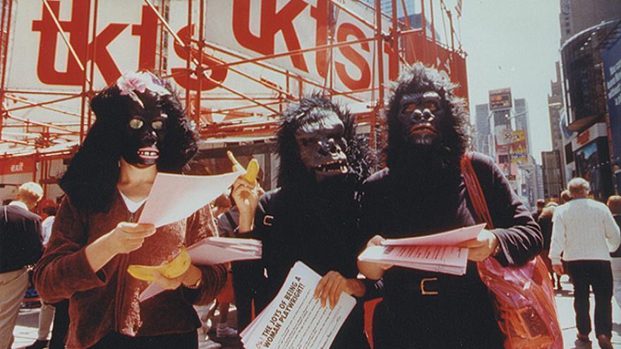 Guerrilla Girls on tour.