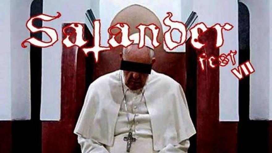 Cartel promocional del evento 'Satander Fest VII'