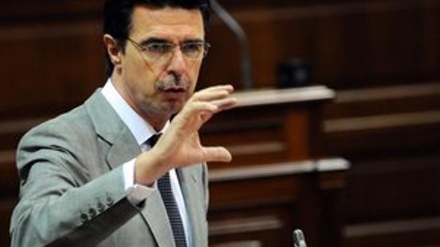 José Manuel Soria, en la sesión parlamentaria de este martes. (ACFI PRESS)