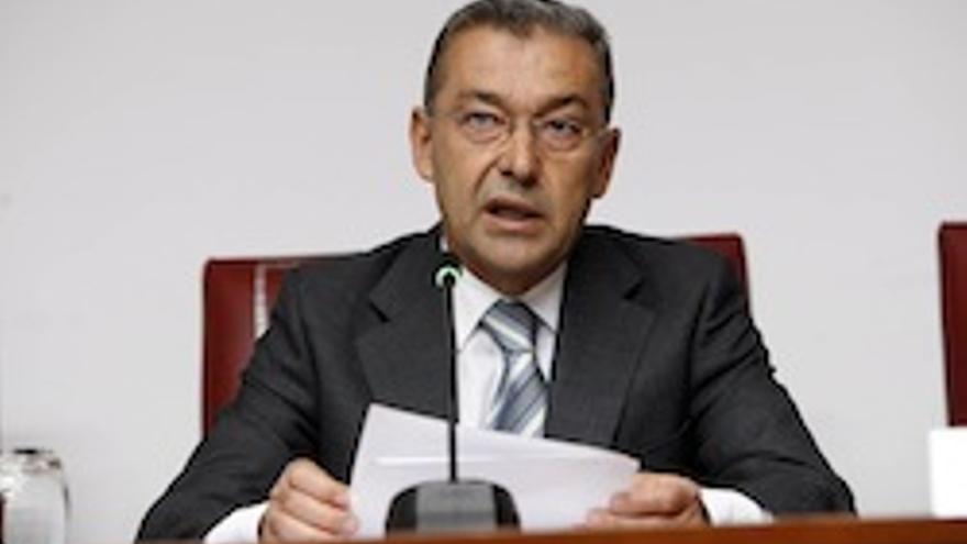 El presidente del Gobierno Canario, Paulino Rivero.