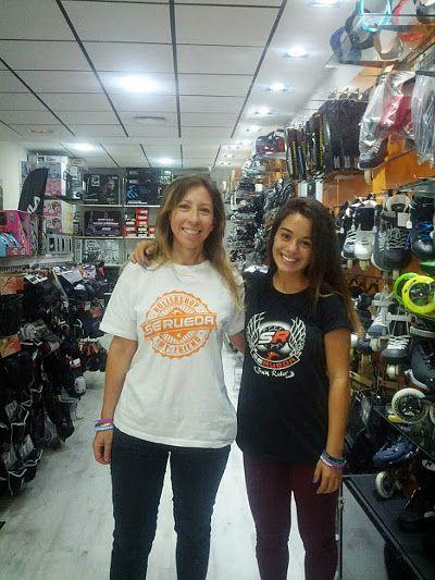 Rocío y Miriam en Se Rueda
