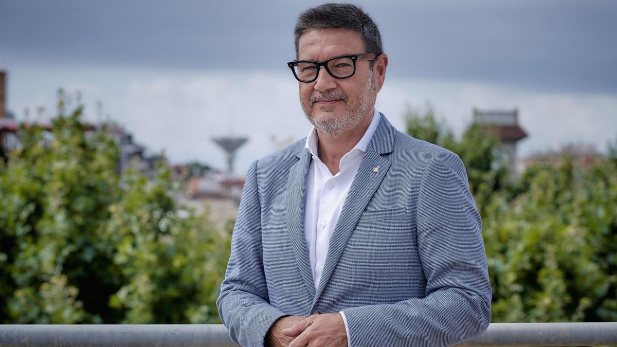 El alcalde de El Prat, Lluís Mijoler.