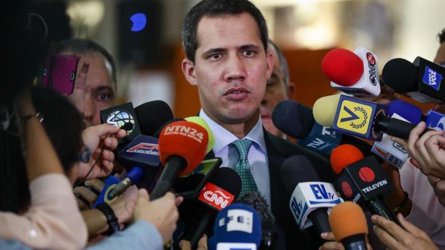 Guaidó descarta volver a la mesa de negociaciones con el Gobierno de Maduro