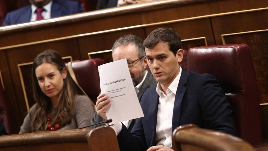 Rivera celebra las infraestructuras anunciadas por Rajoy en Cataluña porque apuestan por el Corredor Mediterráneo
