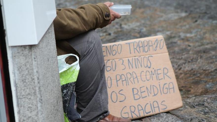 La pobreza crece en España