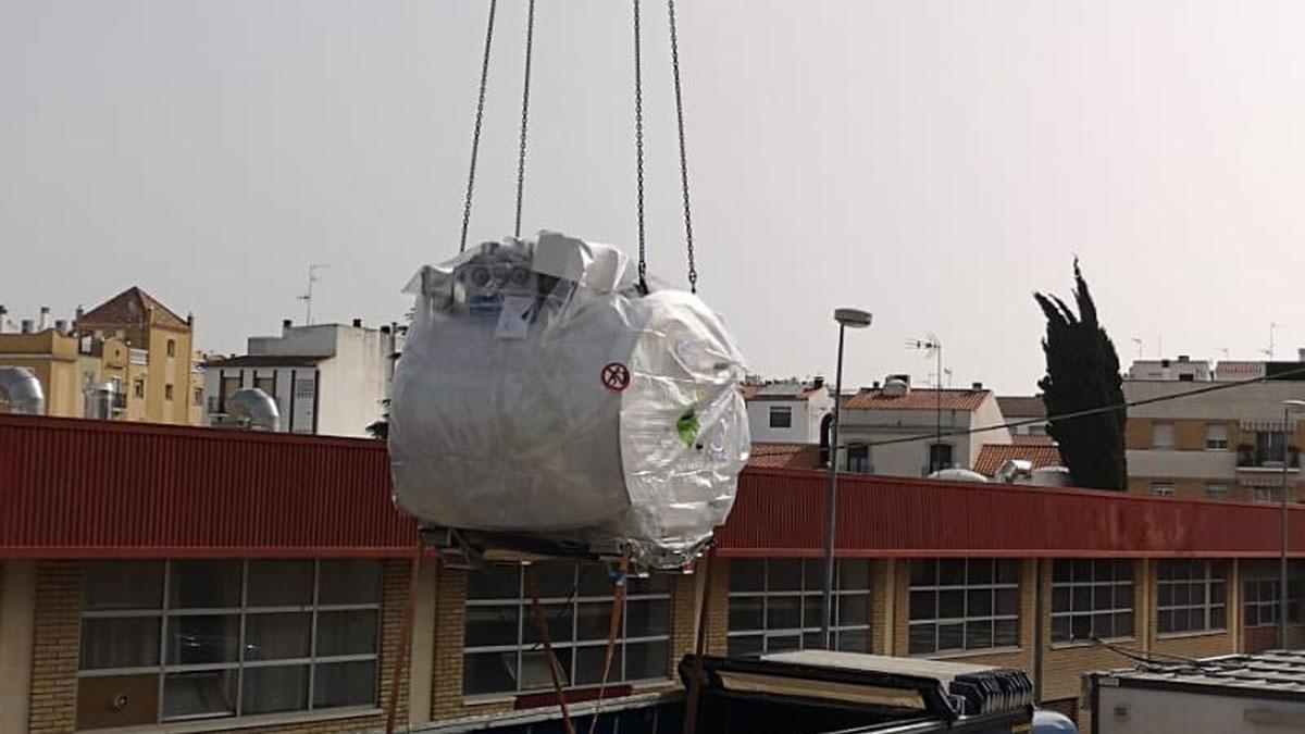 Primera resonancia magnética en el Hospital Valle de los Pedroches.