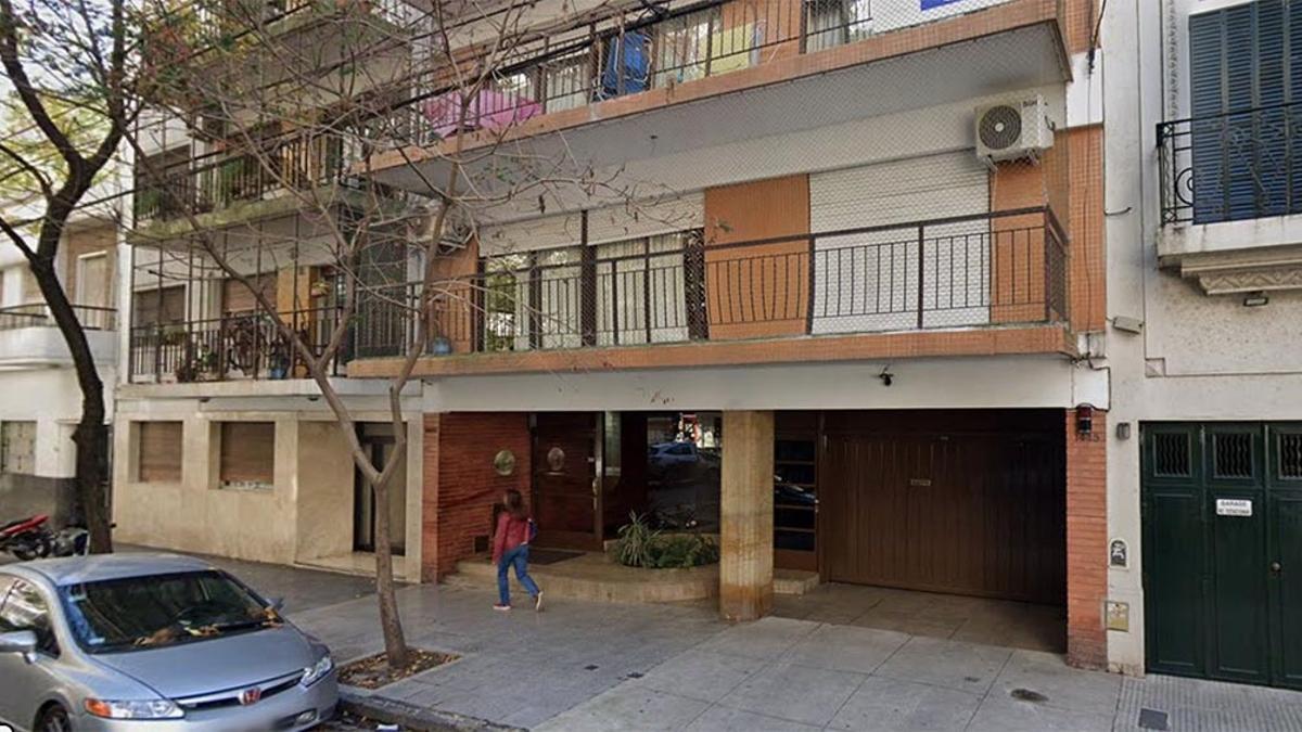 El hecho ocurrió en el departamento 3ro. B de un edificio ubicado en Ciudad de la Paz 1447.