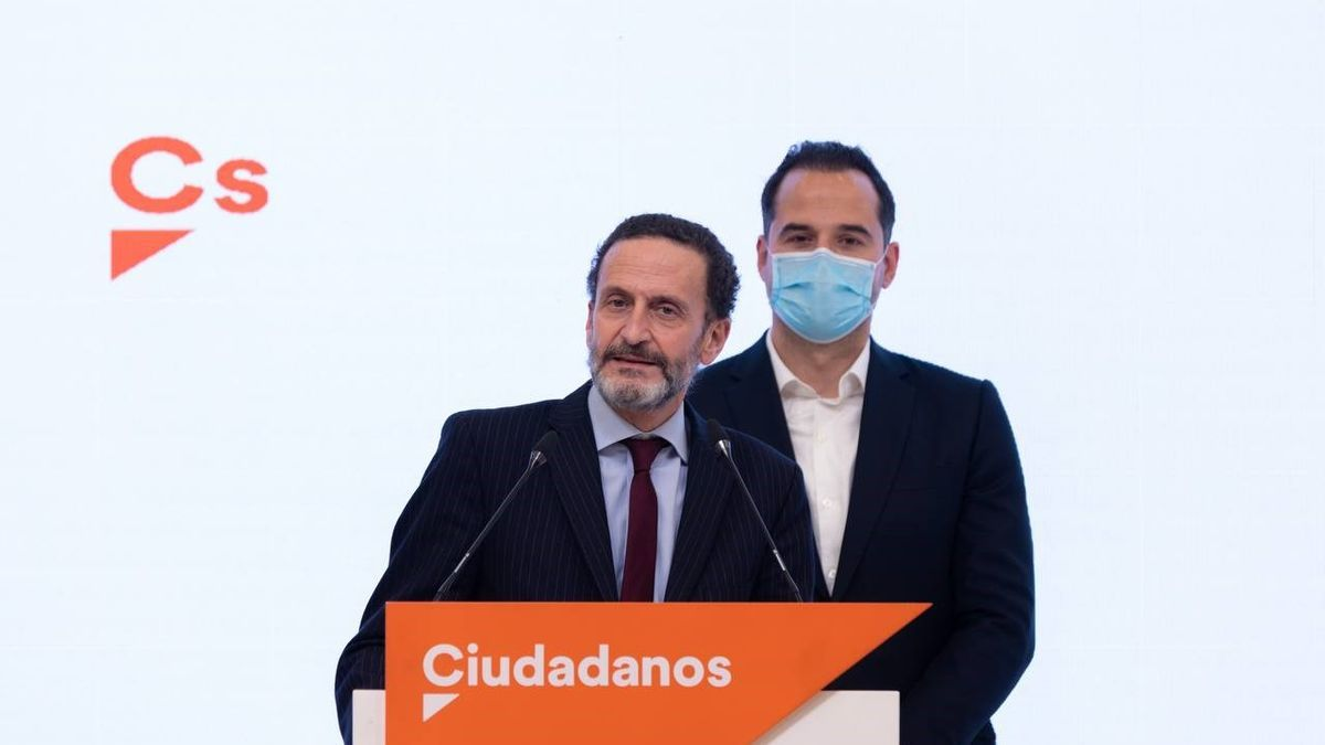 Edmundo Bal e Ignacio Aguado en rueda de prensa.