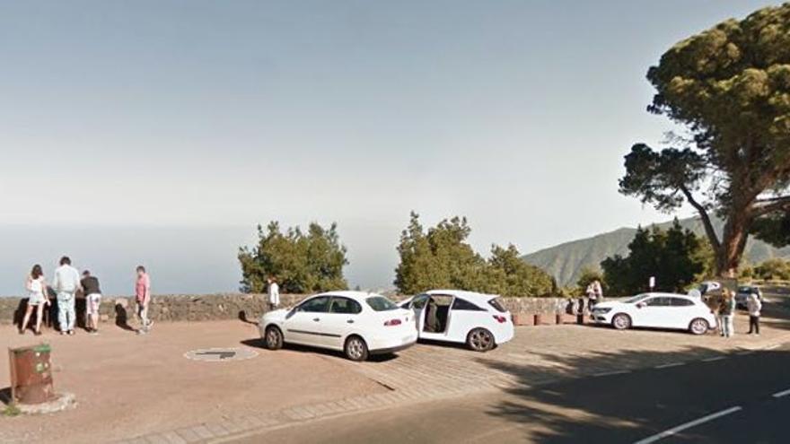 Se busca al autor de una pintada de grandes dimensiones en un espacio natural protegido de Tenerife
