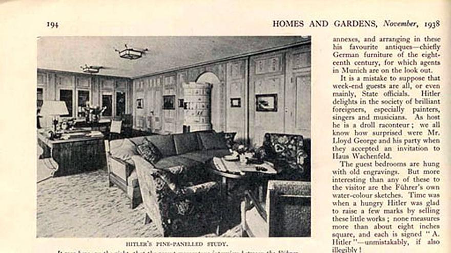 House and Gardens, noviembre 1938