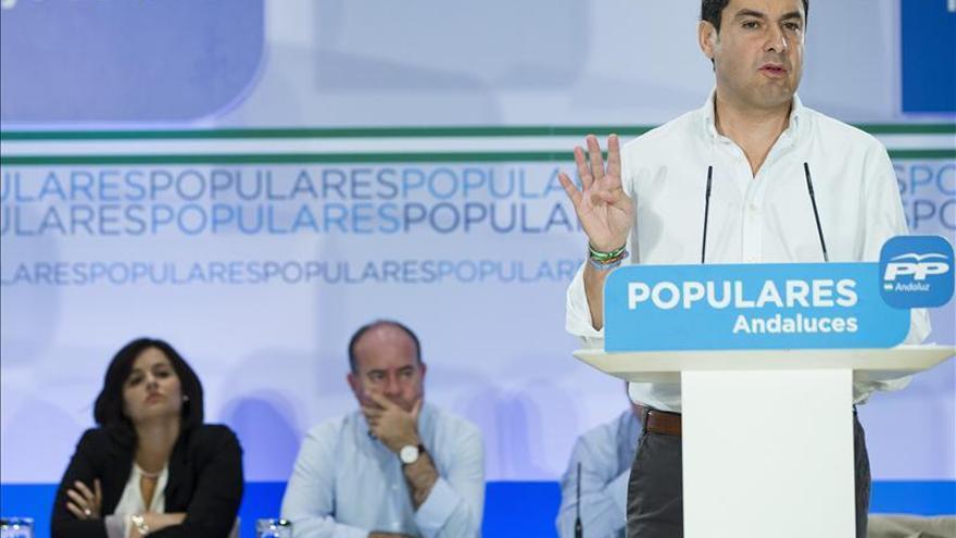 Moreno (PP) dice que Susana Díaz obliga a Sánchez a rechazar el pacto contra la corrupción