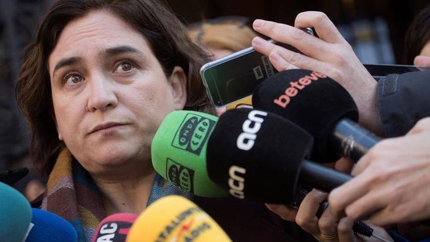 """Colau: """"El estado de excepción que vive Cataluña provoca dolor e indignación"""""""