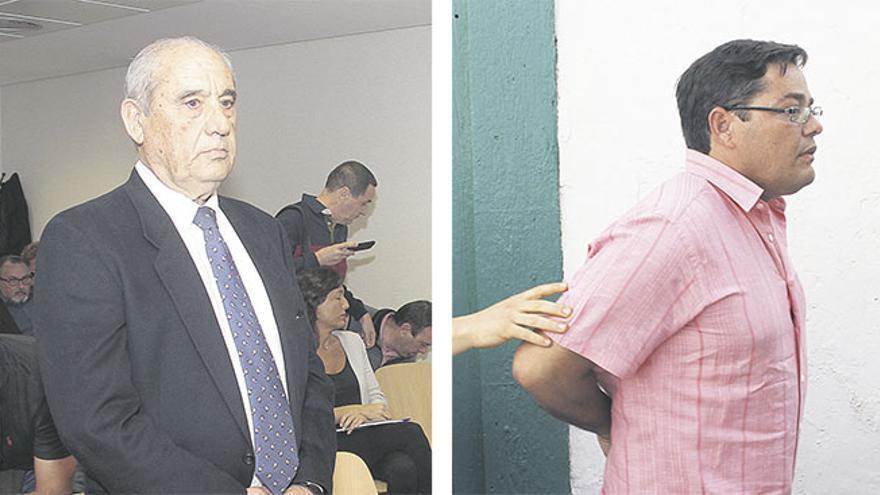 Dimas Martín y Antonio Machín, acusados en el caso Unión.