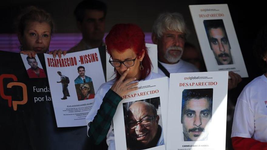 Las familias ponen rostro, nombre y apellidos a sus desaparecidos