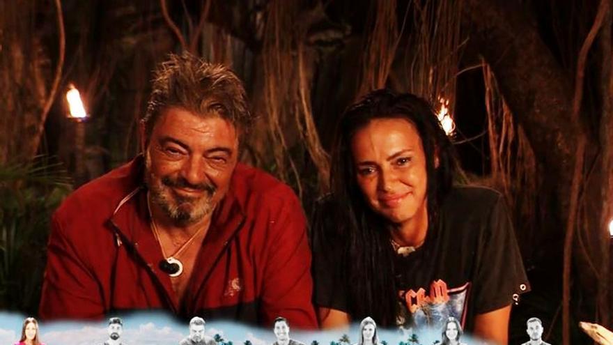 Antonio Canales y Olga Moreno en 'Supervivientes'