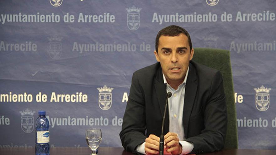 José Montelongo, este martes en rueda de prensa.