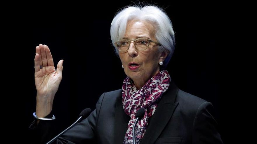 Christine Lagarde, directora ejecutiva del Fondo Monetario Internacional (FMI).