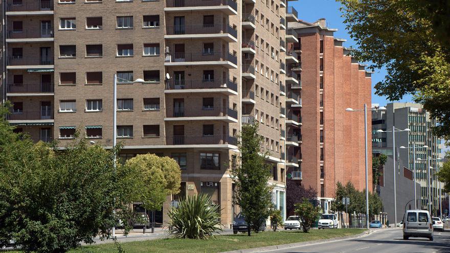 Avenida del Ejército, en Pamplona
