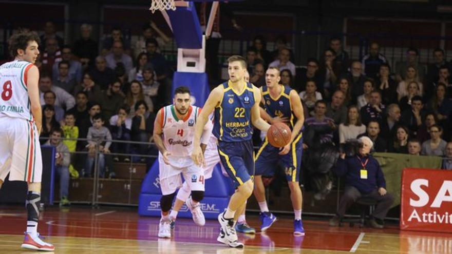 El jugador del Herbalife Gran Canaria Xavi Rabaseda.