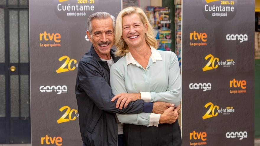 """""""Cuéntame"""" celebra los 20 años en antena de los Alcántara"""