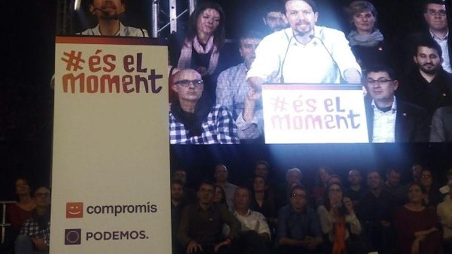 """Pablo Iglesias cierra campaña avisando de que """"cada voto cuenta"""" y proclama: """"Estamos preparados para gobernar"""""""