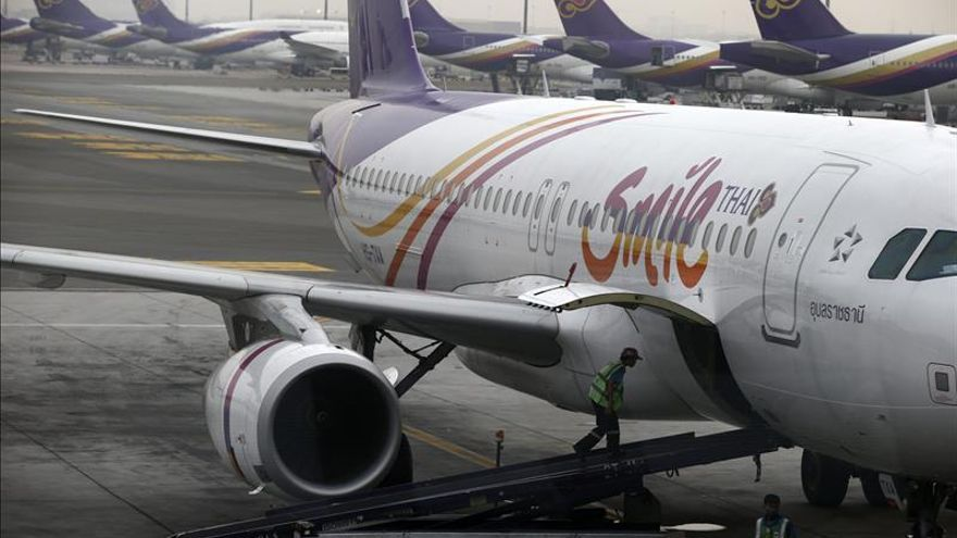 Thai Airways reducirá su flota de aviones para hacer frente a las pérdidas