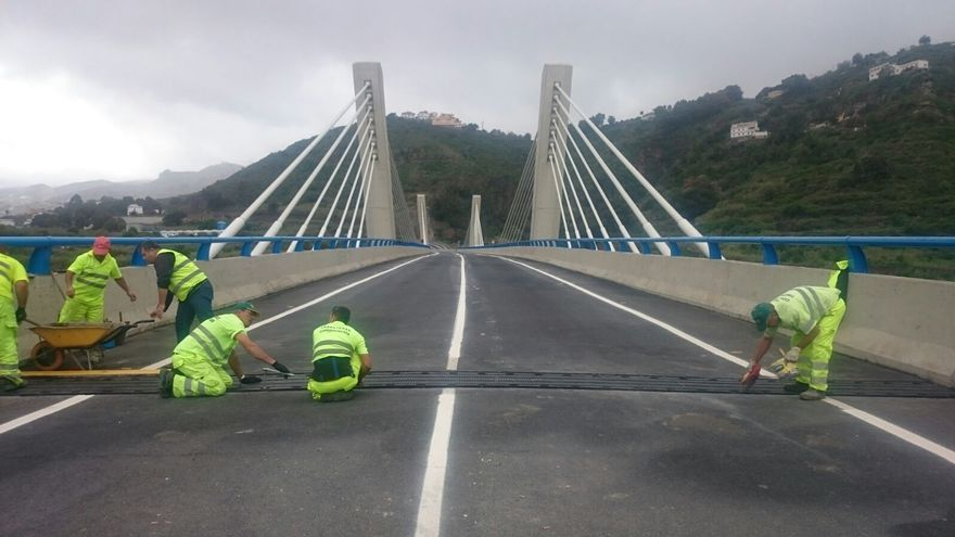 El Cabildo de Gran Canaria abrirá al tráfico el viaducto de Teror. (CANARIAS AHORA)
