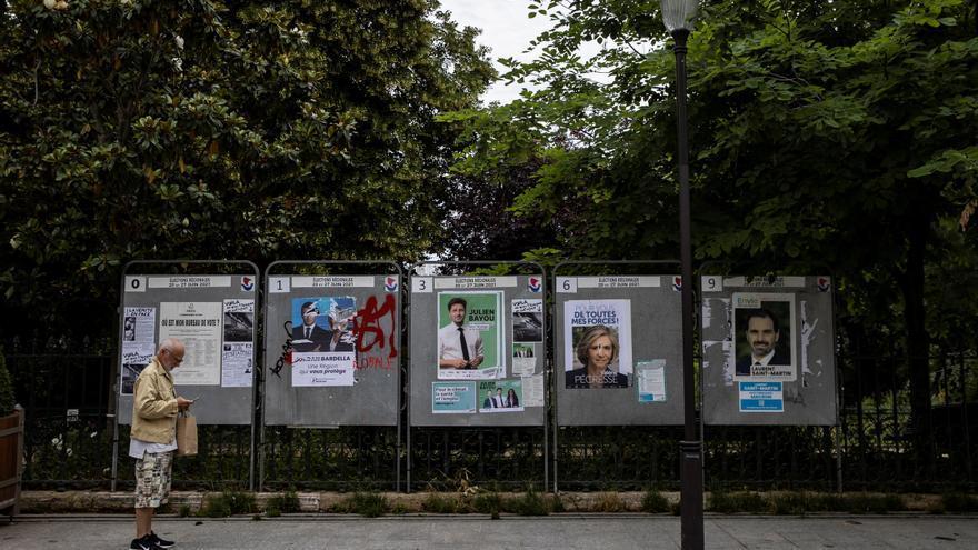 La participación en las regionales francesas sigue baja a media tarde
