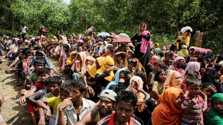 Comienza el registro de los más de 300.000 rohinyás refugiados en Bangladesh