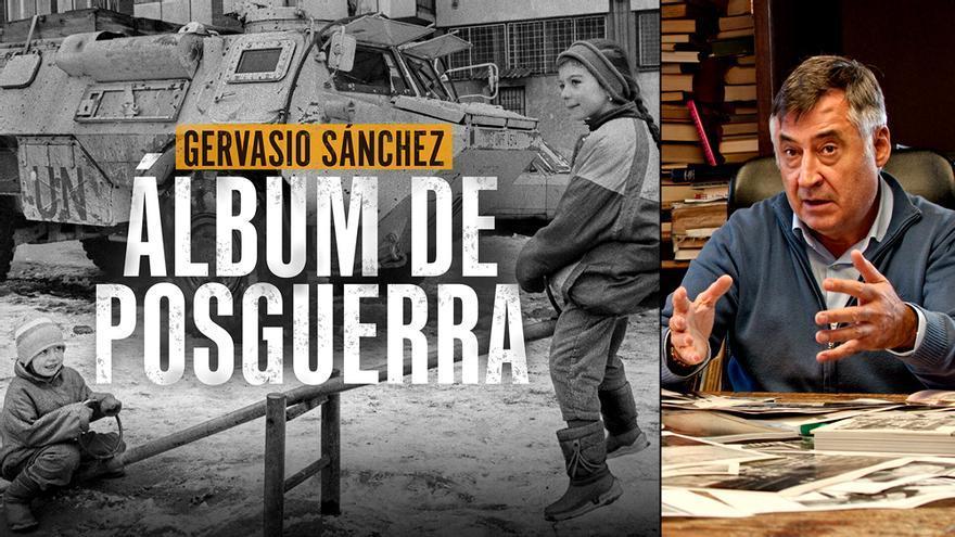 Gervasio Sánchez muestra su 'Álbum de posguerra'